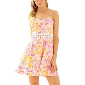 Lily Pulitzer Lenore Cut Out Dress